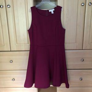 Elegant & Stunning Forever 21 Burgundy Dress 1X